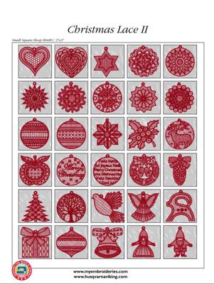Mynd af 265 Christmas lace II