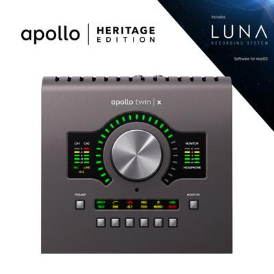 Mynd af Universal Audio-Apollo Twin Quad X Heritage Edition