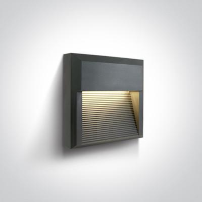 Mynd af ANTHRACITE LED WALL LIGHT 8W