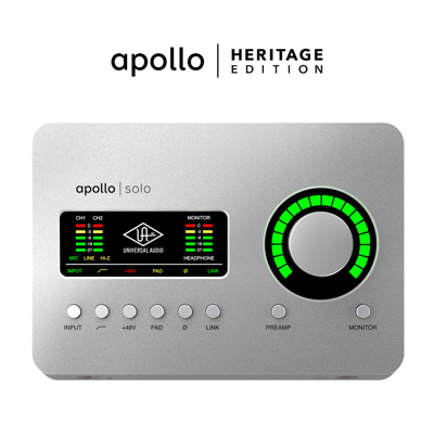 Mynd af Universal Audio-Apollo Solo USB Heritage Edition