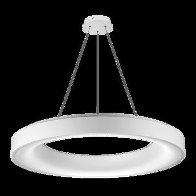 Mynd af Sovana hvítt 80 CCT LED Pendant með dimmer fjarstýringu